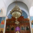 The interior Greek Orthodox Basilica of Saint George in town Madaba, Jordan,  Middle East — Stock Photo #51608105