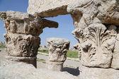 достопримечательности города амман--старая римская цитадель-холм, иордания — Стоковое фото