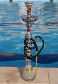Hookah -- also known as a waterpipe, narghile,arghila  or shisha, Jordan, Middle East — Foto de Stock