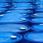 Blue Barrels — Stock Photo #16348597