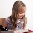 Beautiful Girl Learning — Stock Photo #19190613