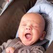 Adorable Baby Yawning — Stock Photo