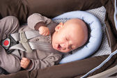 Adorable Baby Yawning — Stockfoto