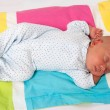 Sweet Baby Boy Sleeping — Stock Photo