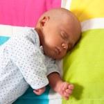 Sweet Baby Boy Sleeping — Stock Photo