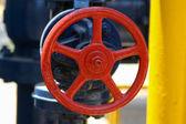 Ventilu na potrubí — Stock fotografie