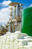 Stosy worków chemiczne — Zdjęcie stockowe