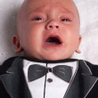 Royalty-Free Stock Photo: Crying Baby Boy
