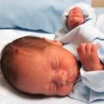 Sweet Newborn Baby — Stock Photo #24497705