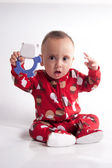Small Child Looking — Stock Photo