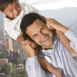 Father and son — Stock Photo #38863111