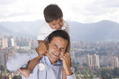 Father and son — Foto de Stock