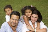 Familia encantadora — Foto de Stock