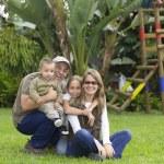 Lovely Family — Stock Photo