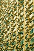 Edificio ventanas en hong kong — Foto de Stock