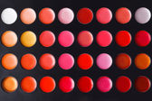 Colorful makeup background. Eye shadow palette — Stock Photo
