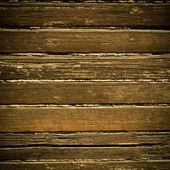 Vintage wooden wall background or texture — Stock Photo