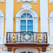 Stock Photo: Peterhof Grand Palace exterior - balcony. Peterhof, Russia