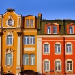 Historic buildings abainst a blue sky. Saint Petersburg, Russia — Stock Photo