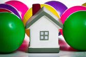 Concetto di assicurazione casa — Foto Stock