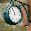 Vintage street clock — Stock Photo #31897889