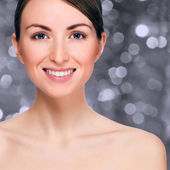 Happy smiling woman — Stock Photo