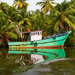 Indian fishing-boat — Stock Photo