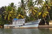 Indische fischerboot — Stockfoto