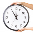 Anti clockwise or counter clockwise time concept — Stock Photo #41145015