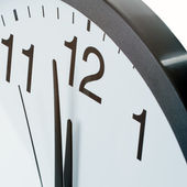 Close up of clock face — Stock Photo
