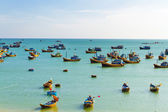 Vietnamese fishing boats — Stock Photo