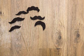 Mustache collection — Stock Photo