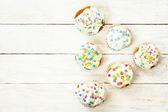 Tasty holiday cakes — Foto Stock