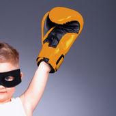 ボクシングの子供 — ストック写真