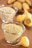 Maca Powder (Flour) — Stock Photo