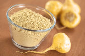 Maca Powder (Flour) — Stock Photo