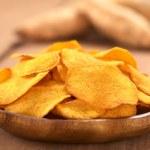 Sweet Potato Chips — Stock Photo #12650356