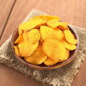 Sweet Potato Chips — Stock Photo