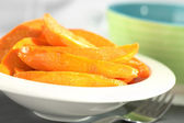 Caramelized Sweet Potato Wedges — Stock Photo