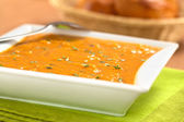 Sweet Potato Soup — Stock Photo