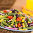 Colorful Green Bean Salad — Stock Photo #34425041