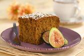 Fig Cake — Stock Photo