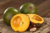 Peruvian Fruit Called Lucuma — Stock Photo