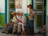 Men in Salento, Colombia — ストック写真
