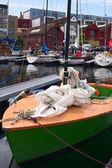 Boat in Guest Harbor in Stavanger, Norway — Stock Photo