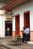 Quindio Bar in Salento, Colombia — Stok fotoğraf