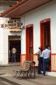 Quindio bar em salento, na colômbia — Foto Stock