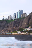 Coast of Miraflores, Lima, Peru — Foto Stock