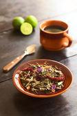 Ecuadorian Herbal Horchata Tea — Stock Photo
