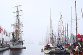 The Tall Ships' Races 2008 in Bergen, Norway — Stock Photo